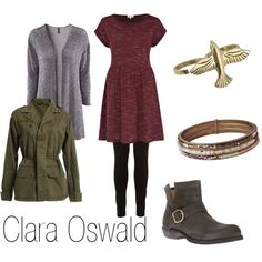 """Clara Oswald (Doctor Who)"" by ja-vy on Polyvore"