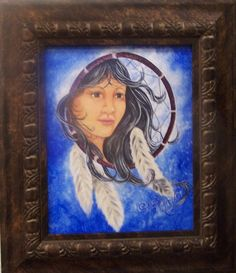 acrylic on canvas panel by David Sherman, Central Oregon, Dream Catcher, Art Gallery, David, Canvas, Frame, Artist, Painting, Home Decor