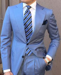 Amalfi Light Blue Jacket