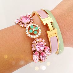 kimchicsisters:  <today's #armcandy. #lulufrost #hermes >