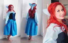 Ariel's Blue Dress Complete~ by *Spwinkles on deviantART