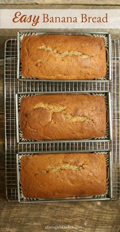 this delicious and wonderfully moist Pecan Banana Bread.Make this delicious and wonderfully moist Pecan Banana Bread. Easy Bread Recipes, Banana Bread Recipes, Cooking Recipes, Delicious Recipes, Pecan Recipes, Homemade Banana Bread, Easy Banana Bread, Fall Dessert Recipes, Brunch Recipes