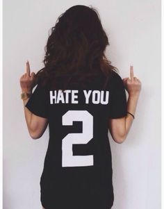 Summer Cotton Graphic Letter Printed Funny Tshirts Women White Black Tops For Girls Woman Men Unisex on Luulla