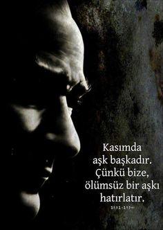 Türkiye Cumhuriyeti'nin kurucusu Ulu Önderimiz Mustafa Kemal Atatürk'ün 77. ölüm yıldönümünde O'nu sonsuz saygı, rahmet ve büyük bir özlemle anıyoruz..  We commemorate the founder of the Republic of Turkey, our Great Leader Mustafa Kemal Atatürk with great respect and endless longing on his 77.th death anniversary.