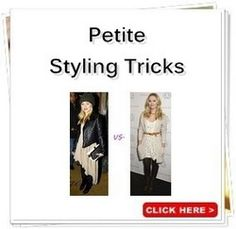 Petite Fashion Advice   How to Look Taller   Fashion Tips for Petites   Shop Petite Plus Size Clothing