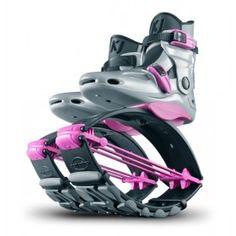 KJ Power Shoe Edición Especial Plata con Rosa para niñas #Fitness #Diversion #Fun #Ejercicio