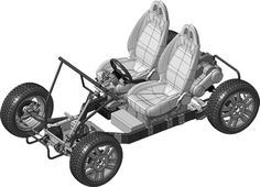 Electric car you can build in an hour.  Open source download plans for free.