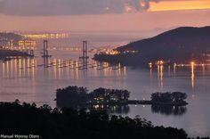 Ría de Vigo. Ensenada de San Simon.