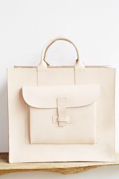 Agnes Baddoo Natural Leather Tote | Oroboro Store