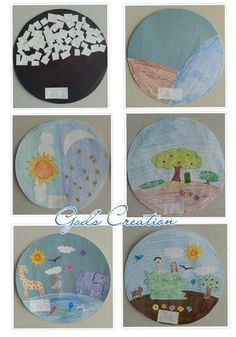 7 Days Of Creation Crafts The 7 Or Seven Days Of Creation