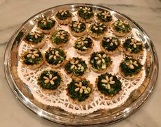 Spanakopita Bites - Catering by Debbi Covington - Beaufort, SC