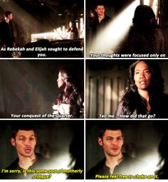 "#TheOriginals 2x06 ""Wheel Inside the Wheel"" - Klaus and his mother Esther"