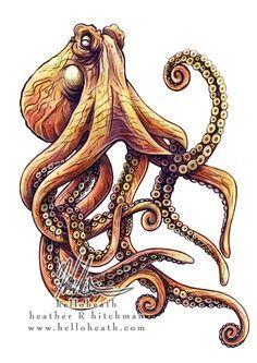 octopus tattoo - Szukaj w Google