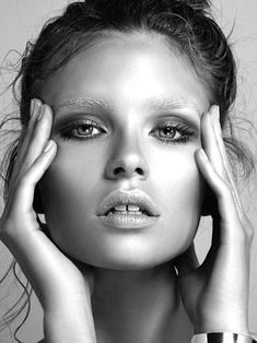 Isabelle Sauer // such amazing texture coupled with porcelain smooth skin.