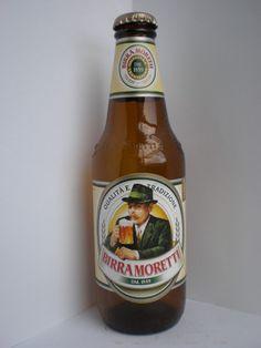 """cerveza italiana MORETTI """"Que bella cosa una jornata in sole..."""""""