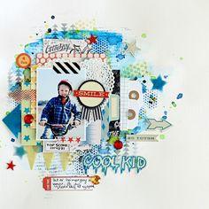 Cool kid - Scrapbook.com
