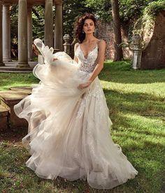 Dreamy  Repost @eveofmilady #eveofmilady a wedding gown can be fun! @bridalreflectionsny . . #bride2be #bride #brides #bridalgown #bridalglam #bridalmakeup #bridalinspired #weddingday #weddinggown #lace #bridalfashion #bridalcouture #weddingdress #weddingdressinspo #sayyestothedress #tulleweddingdress #beautifulwedding #beautifulbride #bridetobe #love #pretty #engaged #bridalinspiration #bridalinspo #ivorydreamsbridal