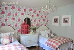 Some Tiny Updates to Lillie and Lola's Room and the Playroom  by Dear Lillie