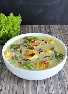 April 2015 - Salat Suppe aus Siebenbürgen, Rumänien - Ciorba de Salata