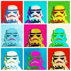 pop art Stormtroopers