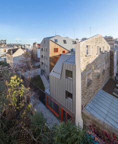 Image 18 of 30 from gallery of Social Housing  / Vous Êtes Ici Architectes. Photograph by 11H45