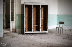 PhotoVogue, former psychiatric hospital, attendance - absences, ex manicomio Volterra, conceptual photography