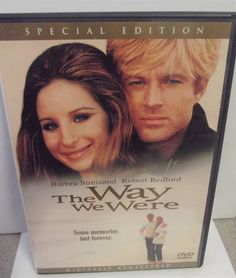Sold!! #BarbaraStreisand The Way We Were DVD 1999 25th #Anniversary Special Edition