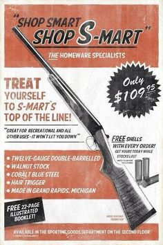 Shop Smart. Shop S-Mart (Shout out to Ash...) #Army of Darkness