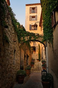 Saint Paul de Vence, France The gelatos of that place are amazing, despite been in France and not in Italy