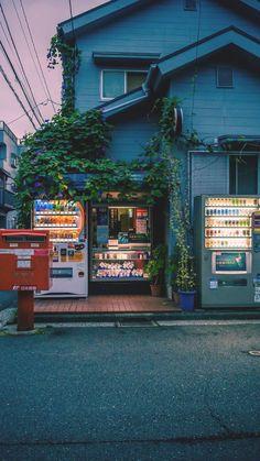Cozy looking shop in Japan. - Cozy looking shop in Japan. Anime Scenery Wallpaper, Aesthetic Pastel Wallpaper, Aesthetic Backgrounds, Aesthetic Wallpapers, Dark Wallpaper, Screen Wallpaper, Wallpaper Quotes, Aesthetic Japan, Japanese Aesthetic