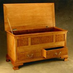 Hope Chest... I imagine the little man will need one of these for the treasures he collects in life