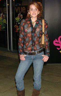 Le look d'Emma Watson en 2004