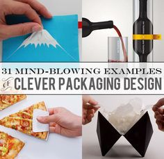 31 Mind-Blowing Examples of Clever Packaging Design // All of these need to be used xox Label Design, Tool Design, Design Process, Print Design, Package Design, Design Design, Clever Packaging, Bottle Packaging, Brand Packaging