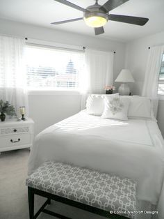 Catty Corner Bed w shelf behind | master bed | Pinterest | Corner ...