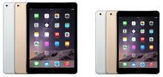 iPad Air 2 e Ipad Mini 3 são homologados pela Anatel e podem chegar ao Brasil nas próximas semanas