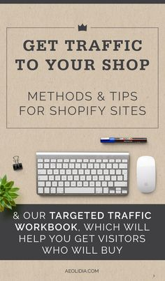 Here's how to get traffic to your online store. Marketing and promoting your business is a huge part of having a successful online retail business. You can do this yourself, hire someone in house to do it, or hire a marketing agency to devise and implement a strategy for you.