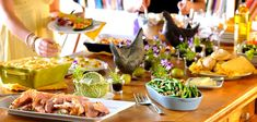 Feeding a crowd on the cheap. Party food ideas, food shopping tips, must-have tools, and more!