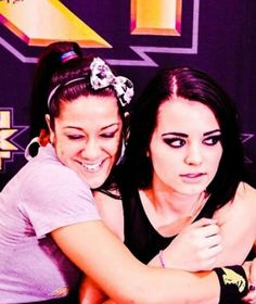 Lol, Bayley and Paige.