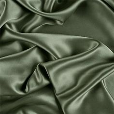 Items similar to Dark Sage Stretch Silk Charmeuse, Fabric By The Yard on Etsy Mint Green Aesthetic, Aesthetic Colors, Aesthetic Pictures, Sage Green Wallpaper, Sage Color, Slytherin Aesthetic, Green Silk, Green Fabric, Green Satin