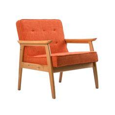 Orange Crush Chair | dotandbo.com