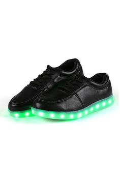 SuperCart Unisex Cool LED Light Shoes Lace Up Casual Sportswear Luminous Flat Sneaker Shoes (Black) - Intl | Price: ฿967.00 | Brand: Unbranded/Generic | From: Top Seller Shoes - รวมรองเท้าแฟชั่น รองเท้าผู้ชาย รองเท้าผู้หญิง ราคาพิเศษ | See info: http://www.topsellershoes.com/product/34218/supercart-unisex-cool-led-light-shoes-lace-up-casual-sportswear-luminous-flat-sneaker-shoes-black-intl