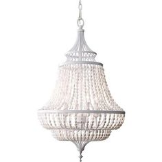 Feiss F2807/4WSG,4 - Light Single Tier Chandelier ,White Semi Gloss