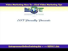 Video Marketing Software Tips and more at… EntrepreneurOnlin... Click for other helpful tips, useful info and unique content. source