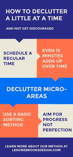 If you need to get started on decluttering, but you aren't ready (or in need of) one of those major programs that rearranges your whole life, here's our Fundamentals of Staging, #Decluttering process, adjusted for everyday living. #declutter #decluttermyhouse #howto