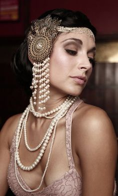 hairstyle with headpiece - Google Search