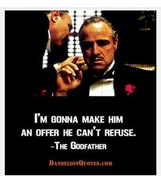 The Godfather Movie Quotes, Sayings, Lines, Dialogues & Images – Yo Quotes Top Movie Quotes, Popular Movie Quotes, Famous Movie Quotes, Film Quotes, Hustle Quotes, Godfather Quotes, Godfather Movie, Dialogue Images, Happy Quotes