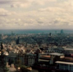 Pinhole Photograph of the view of Barcelona from Parc Guell. 2011 f.173 - 8Sec. more on http://abiteof.com