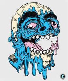 Trippy Melting Face - Bing Images