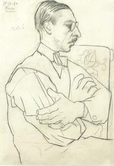 Igor Stravinsky by Picasso