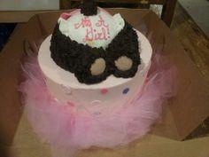 teddy bear baby shower cake | Ballerina Teddy Bear Rump Cake — Baby Shower